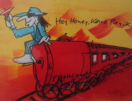 "Udo Lindenberg ""Hey Honey, keine Panik"""