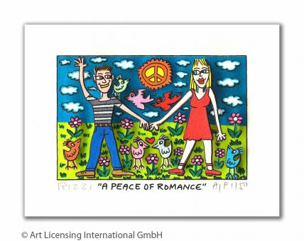 "James Rizzi ""A Peace Of Romance"""