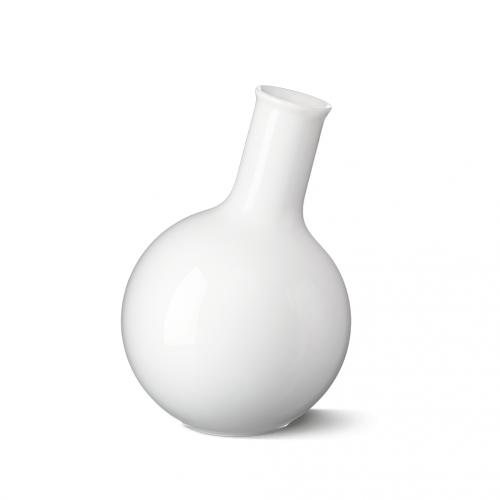 Vase Bulb, LAB, weiss