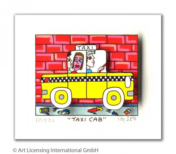 "James Rizzi ""Taxi Cab"""