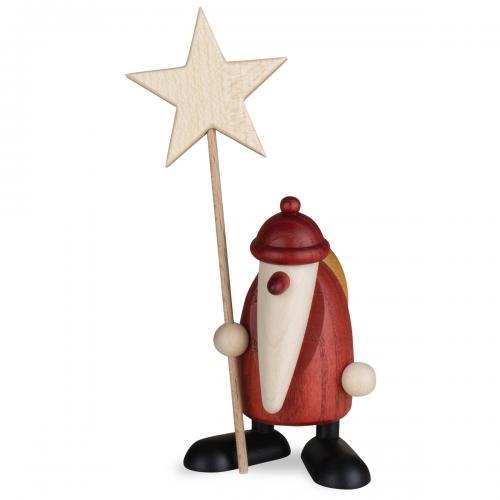 Weihnachtsmann mit Stern, klein